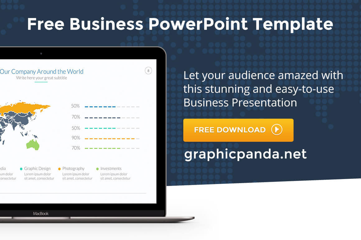 Free Business Powerpoint Template PPT And PPTX Download