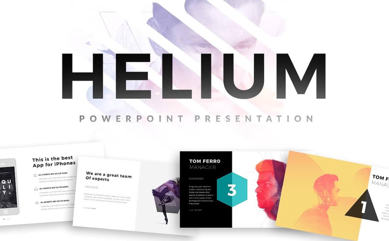 Helium PowerPoint Template -min