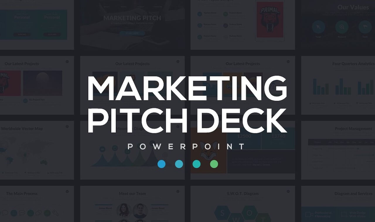 Marketing Pitch Deck PowerPoint -min