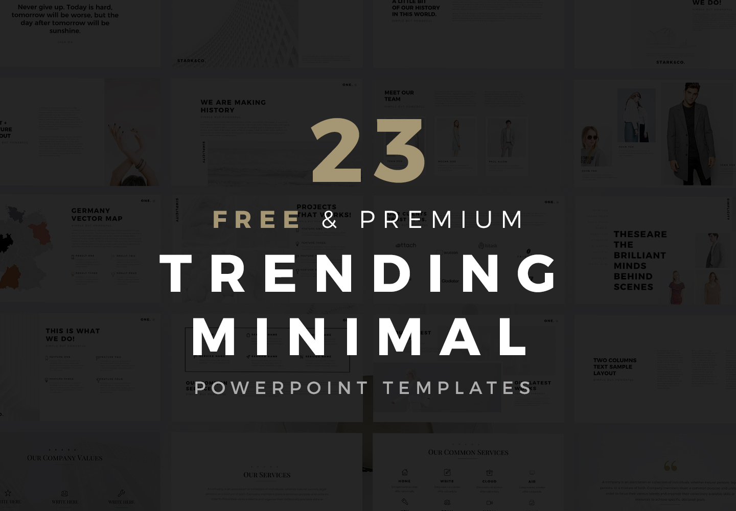Minimal PowerPoint Templaets