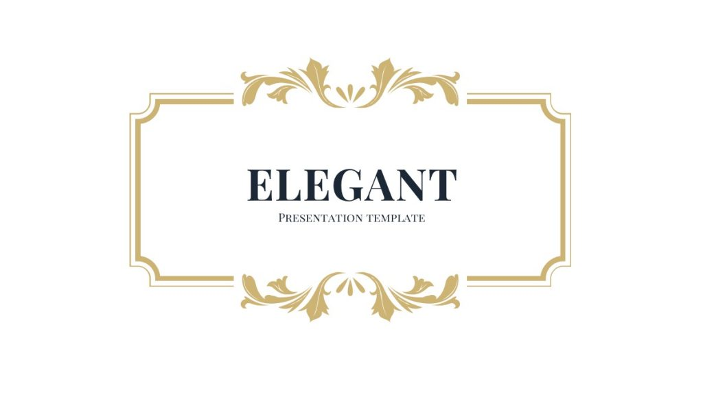 Free Elegant PowerPoint Template Best Free Powerpoint Templates