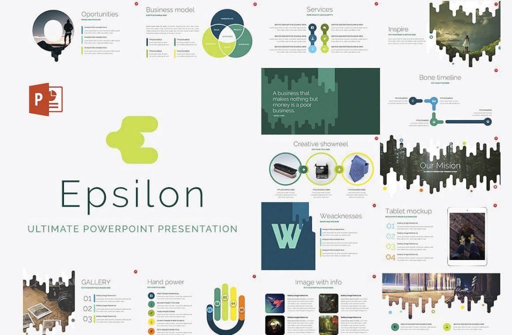 Free corporate presentation template