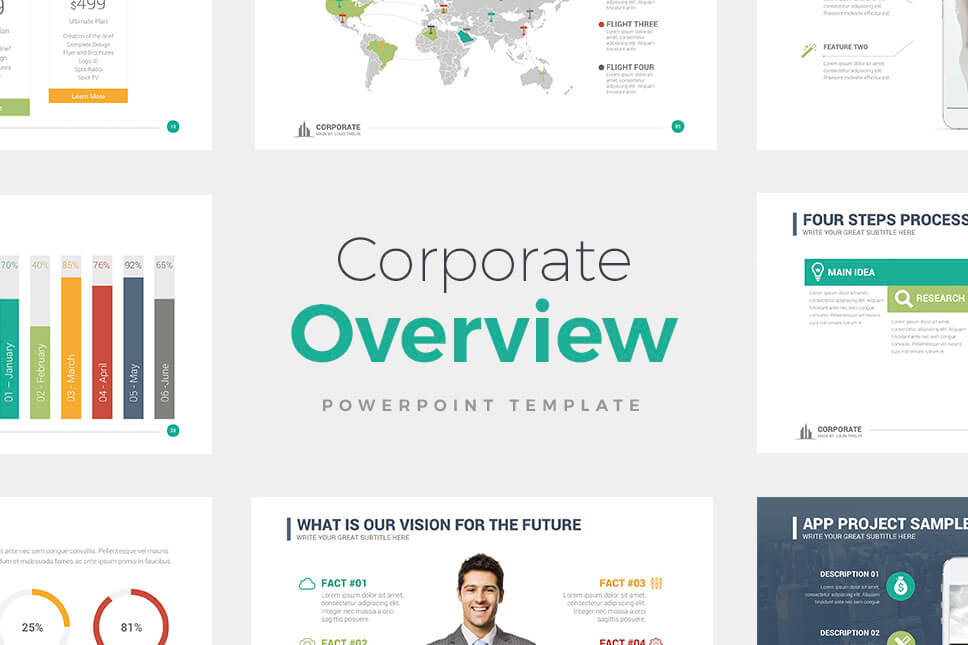best powerpoint templates Corporate Overview PowerPoint Template - PowerPoint Presentation - PowerPoint Templates