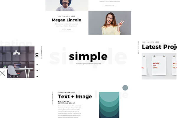 free powerpoint templates - Minimal PowerPoint Templates