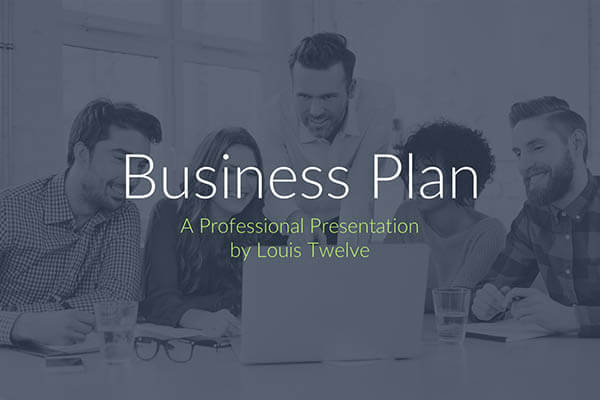 Free Business Plan PowerPoint Presentation Template - Business plans free templates