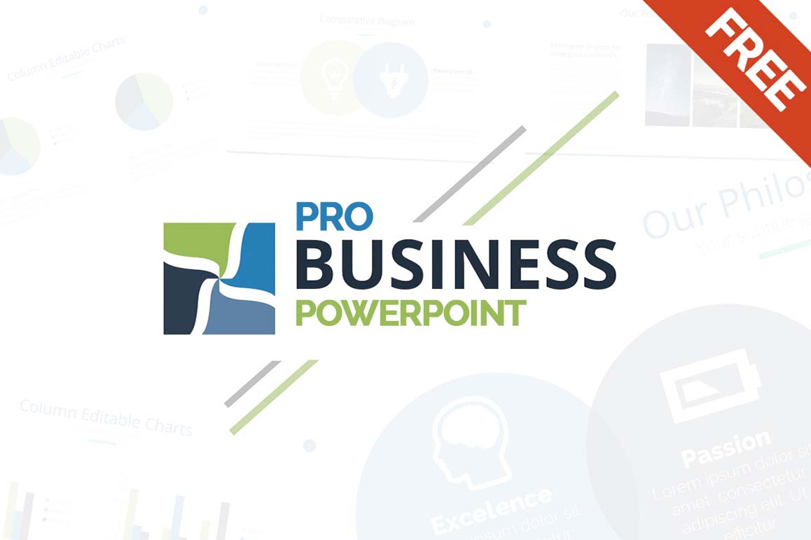 Free business powerpoint template ppt pptx download friedricerecipe Image collections