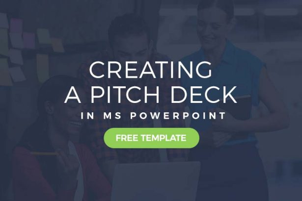 creating a pitch deck in powerpoint - free pitch deck template