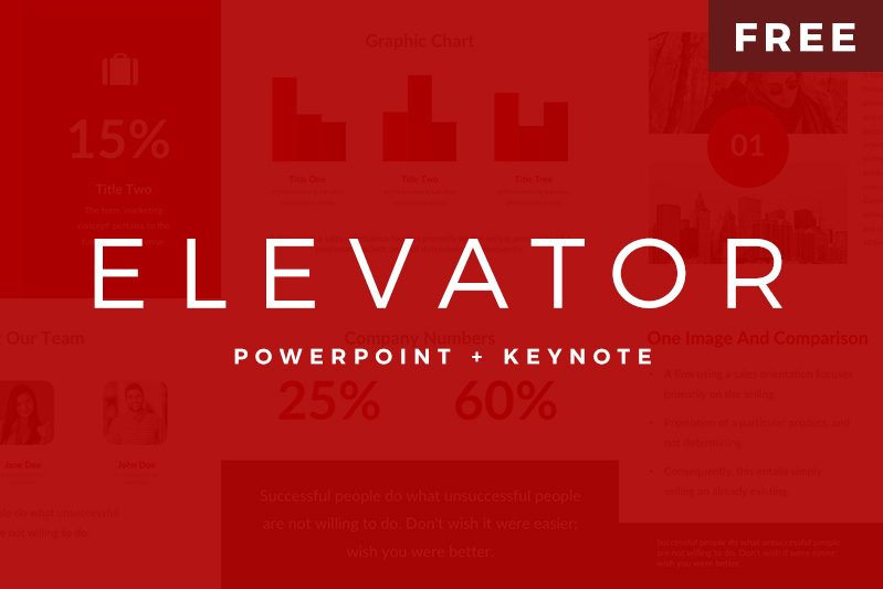 Free PowerPoint and Keynote Template