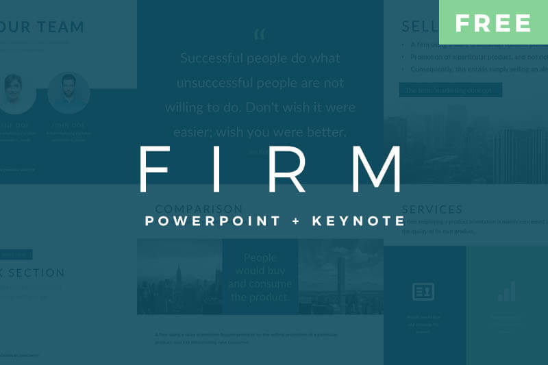 Firm pitch deck free powerpoint and keynote templates toneelgroepblik Images