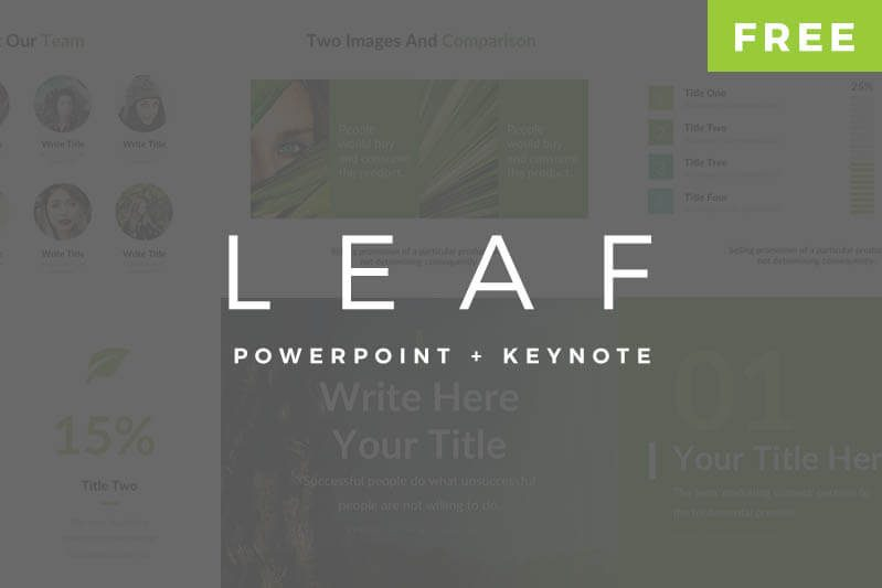 Free PowerPoint Templates Keynote Template Pitch Deck