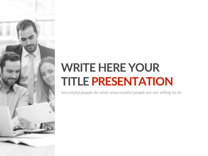 Google PowerPoint Presentation Theme