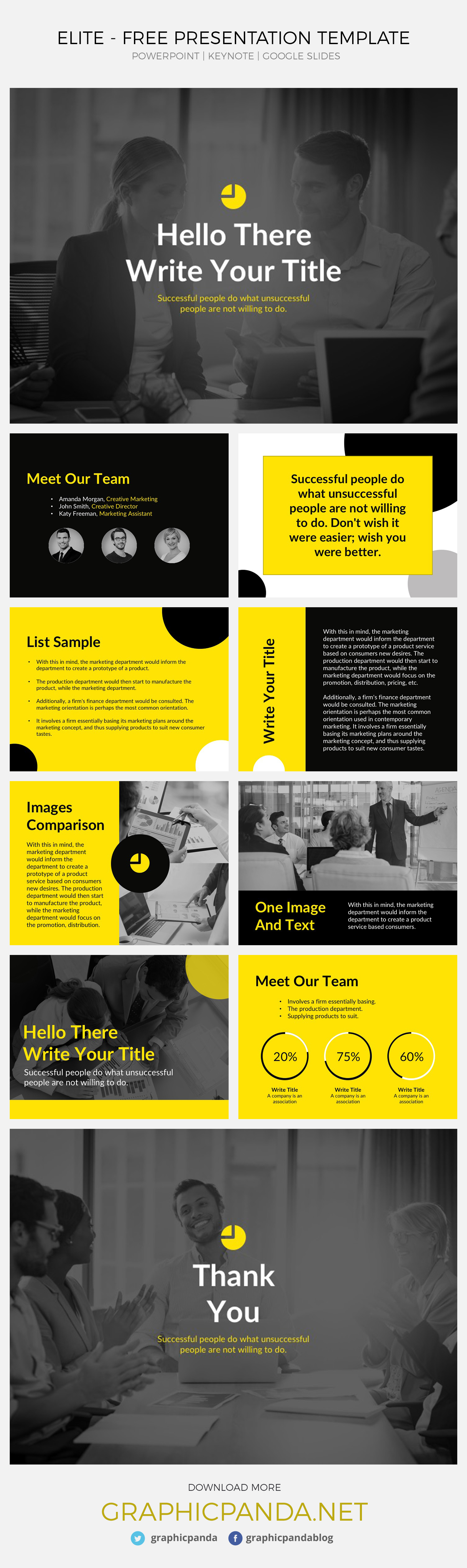 Top 69 Best Free Keynote Templates (Updated March 2019)