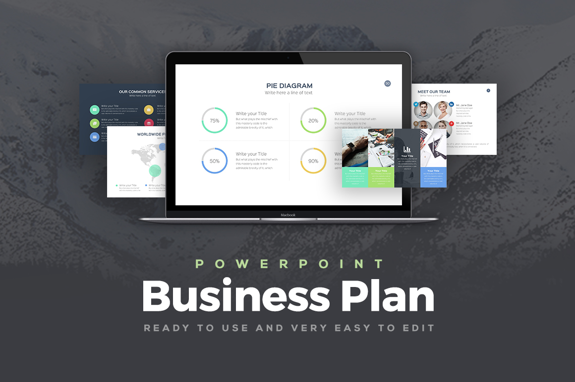 Business Plan Professional Powerpoint Template Keynote
