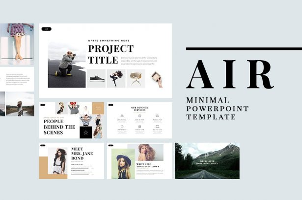 Best Minimalist PowerPoint Template Best Minimal Keynote Themes Best Google Slides Themes
