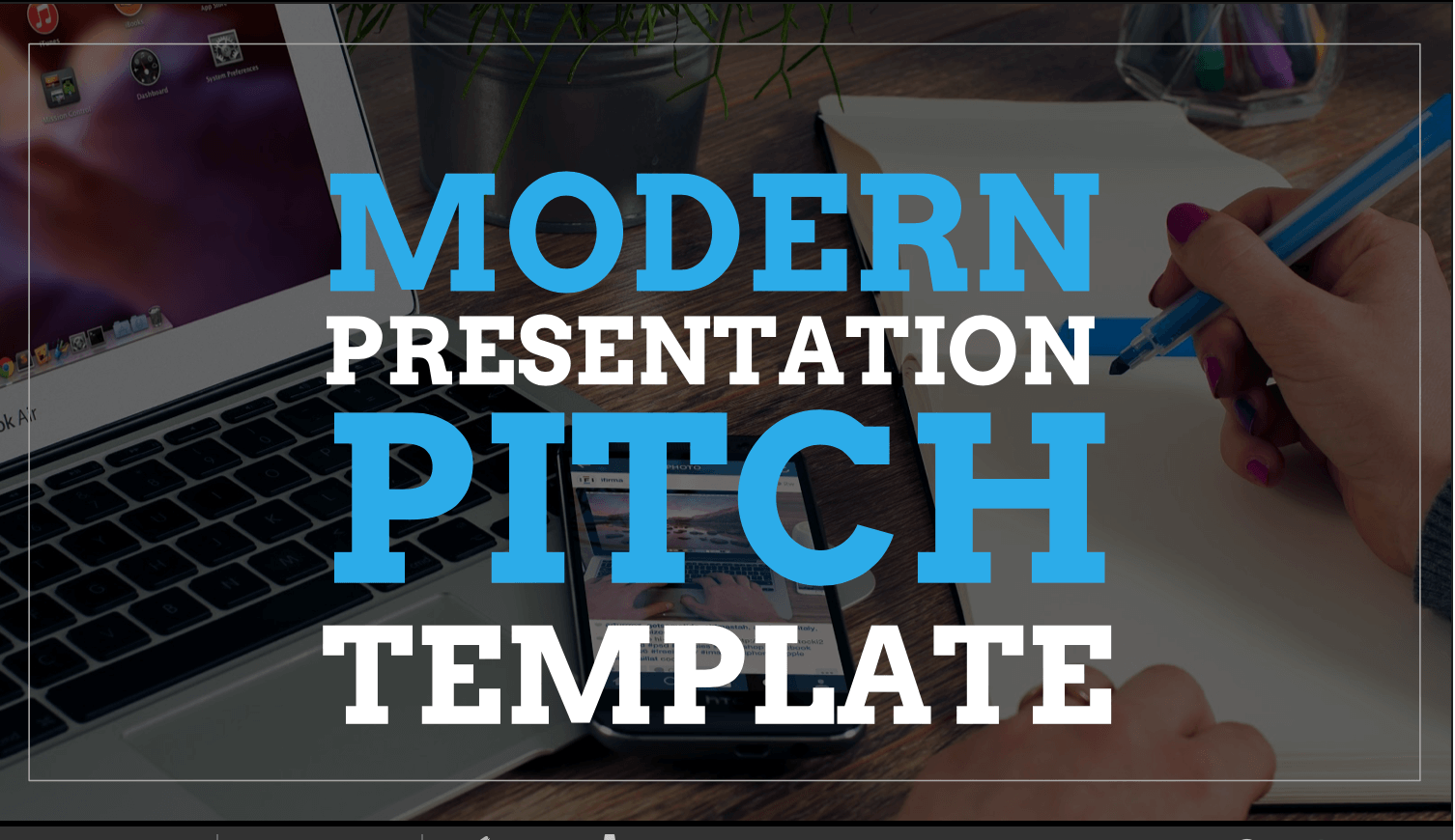 Modern Pitch Google PowerPoint Template