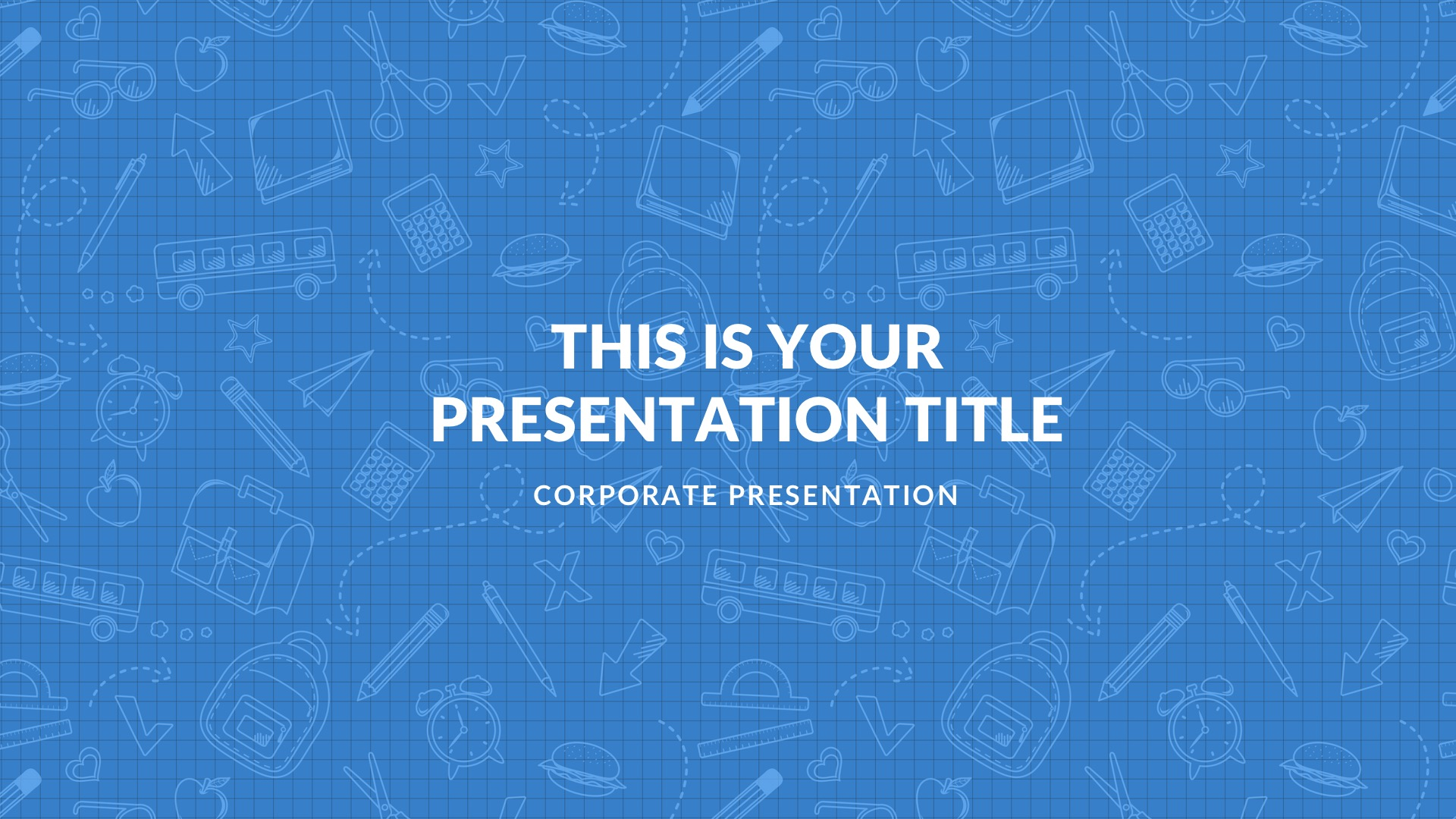 Blue Free PowerPoint Template, Google Slides, Keynote