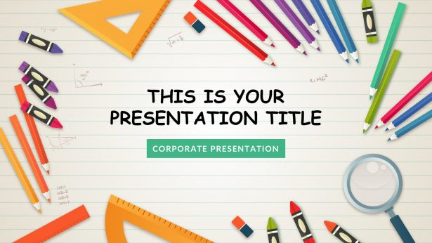 Kindergarten Free PowerPoint Template, Google Slides, Keynote