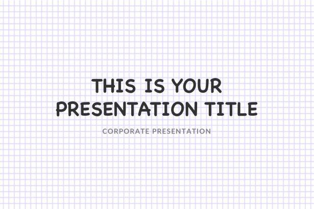 Notepad Free Google Slides, Keynote, PowerPoint