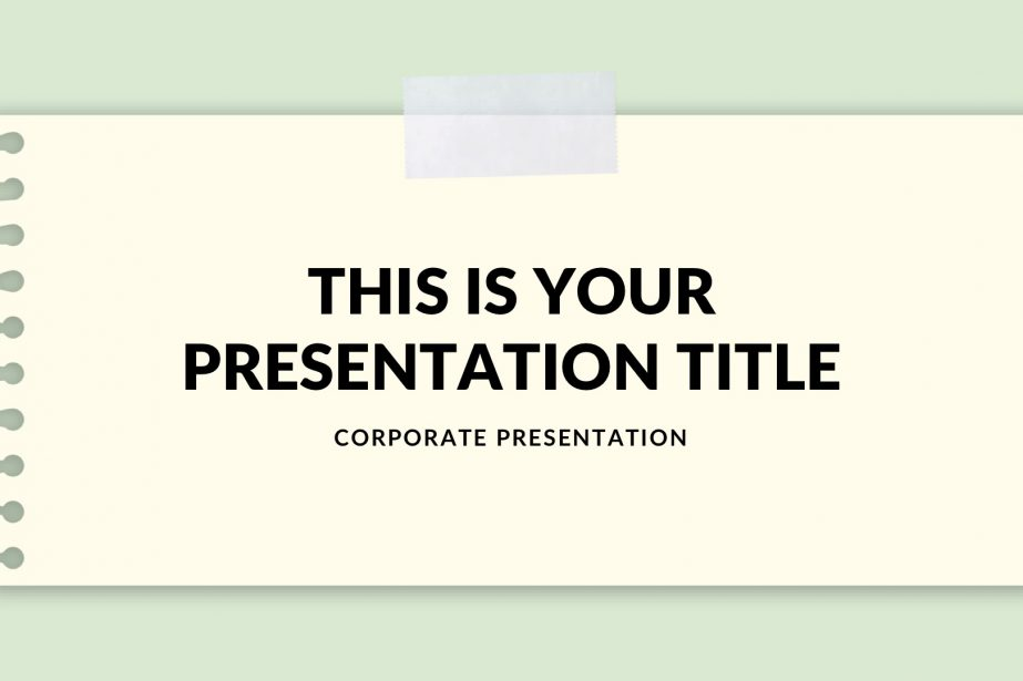 School Free PowerPoint Template, Google Slides, Keynote Themes