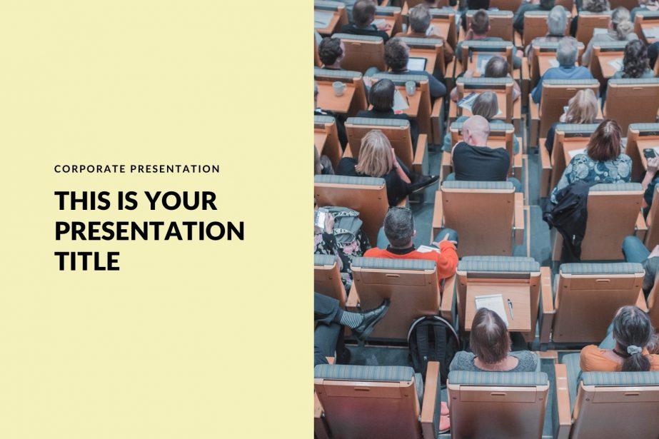 Yellow Free Google Slides, Keynote, PowerPoint copy