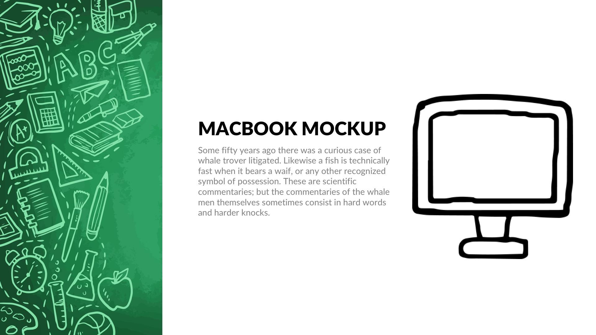 Greenboard Free PowerPoint Template, Google Slides, Keynote
