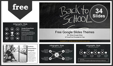 Back to School Education Google Slides Theme