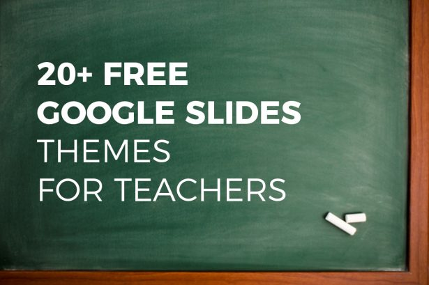 Best Free Google Slides Themes for Teachers
