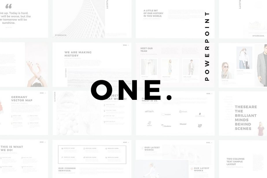 One Minimal - PowerPoint Templates - Keynote Themes - Google Slides.jpg