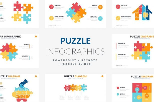 Puzzles Infographic Template