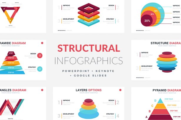 Structural Infographic Templates - PowerPoint Templates - Keynote Themes - Google Slides.jpg