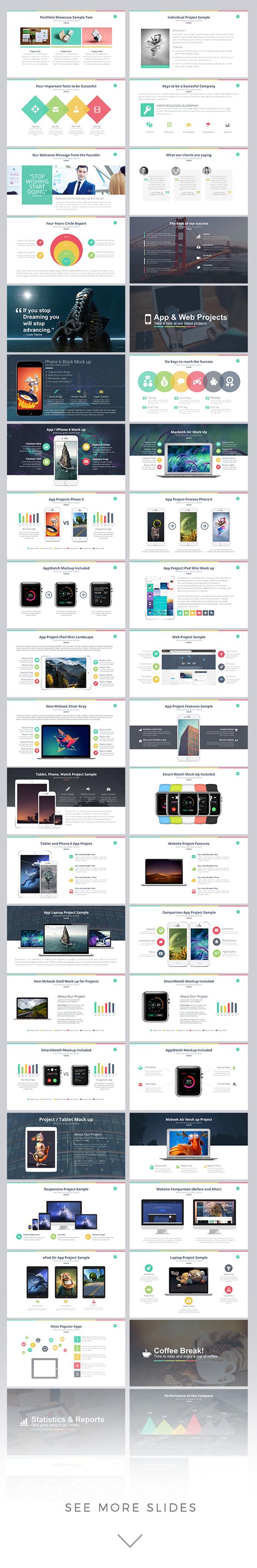 marketer powerpoint template
