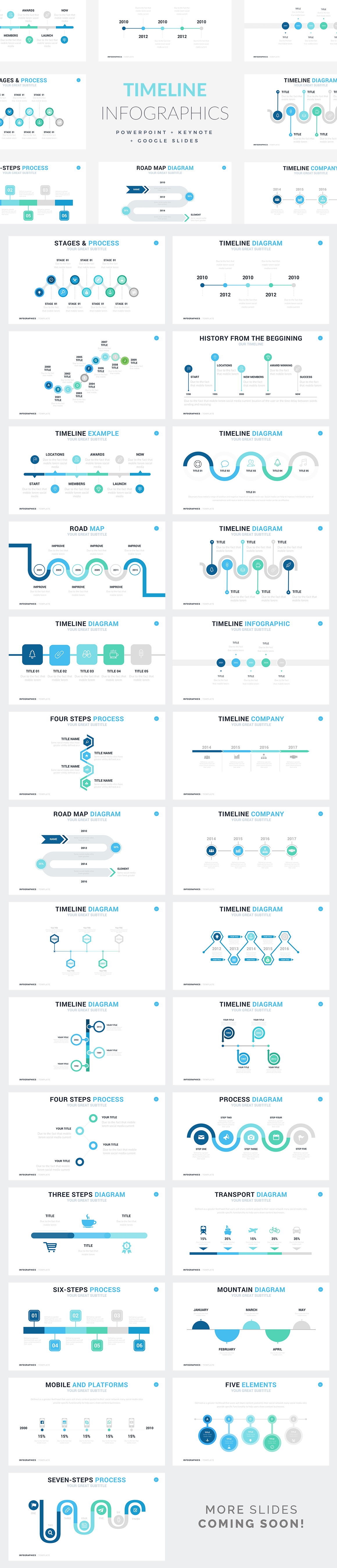 Infographic Templates - PowerPoint Templates - Keynote Themes - Google Slides