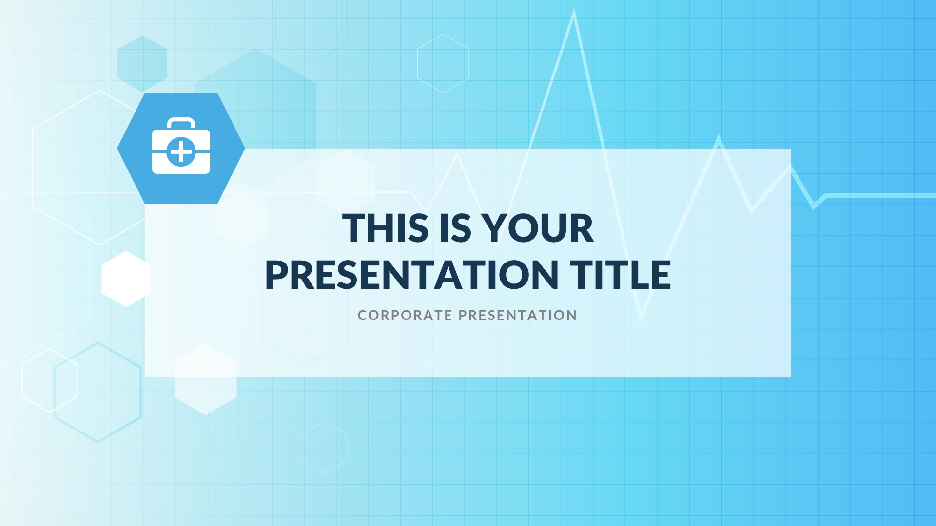 Alpha Medical Free PowerPoint Template, Google Slides, Keynote