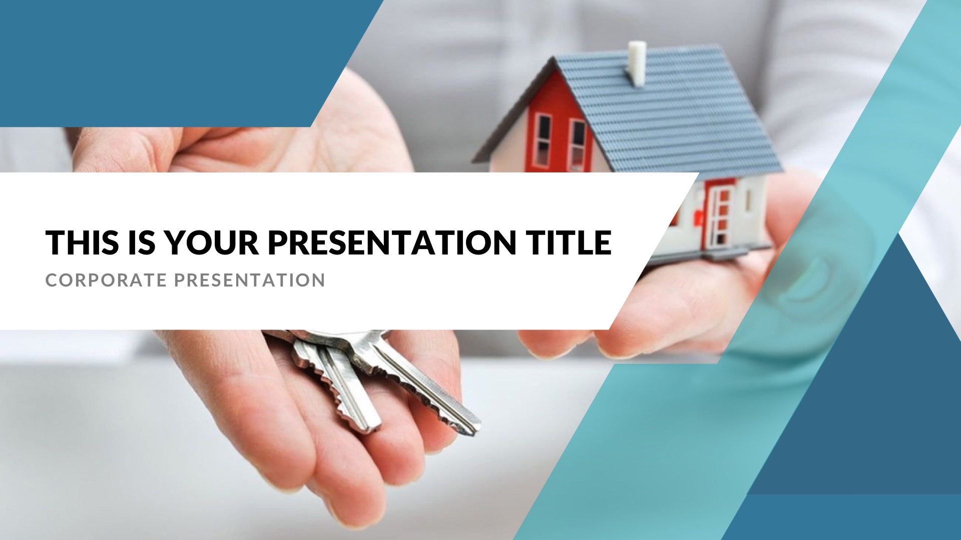 Real Estate Investment Presentation Template from graphicpanda.net