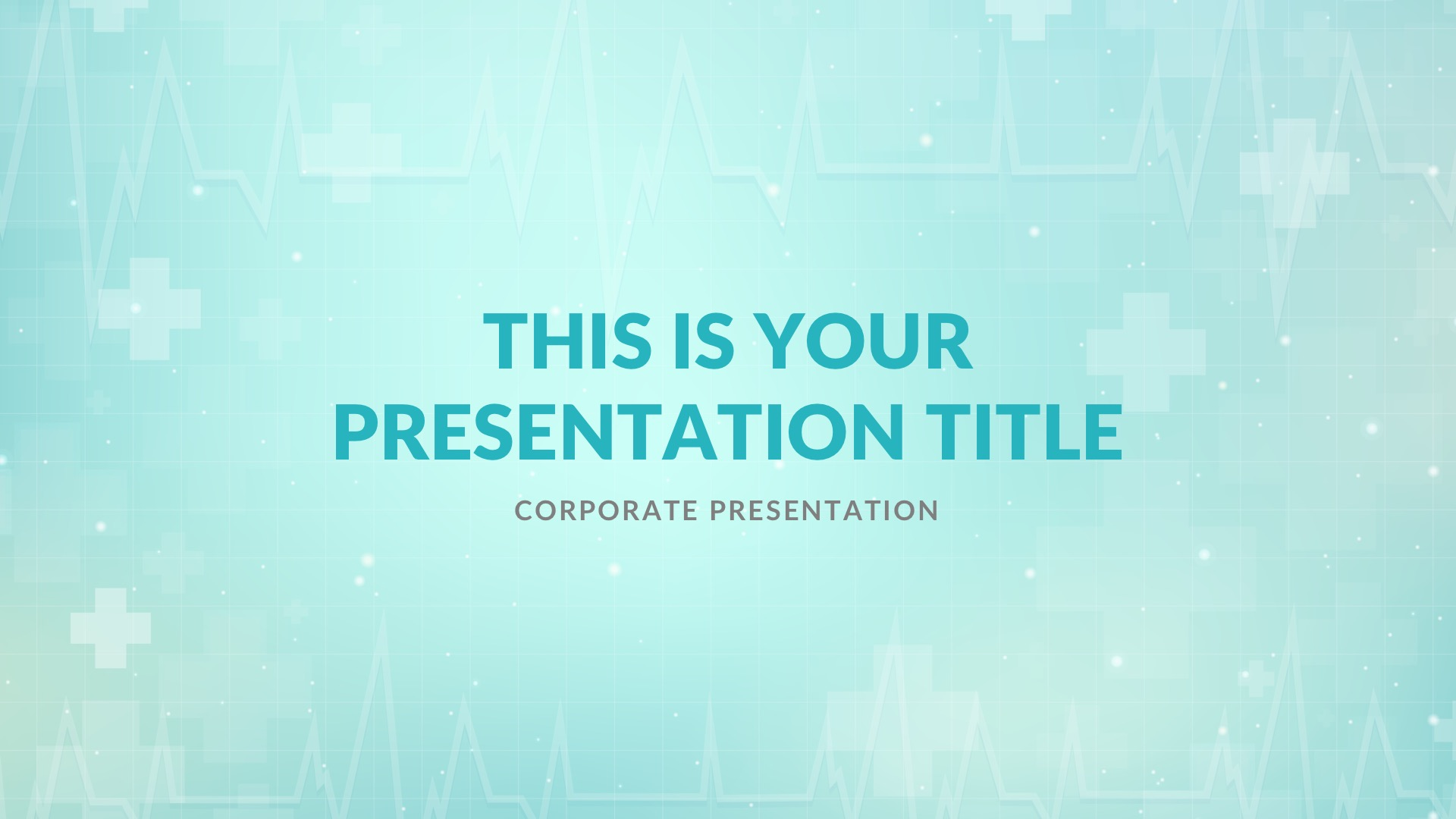 Hospital Medical Free Powerpoint Template Keynote Theme