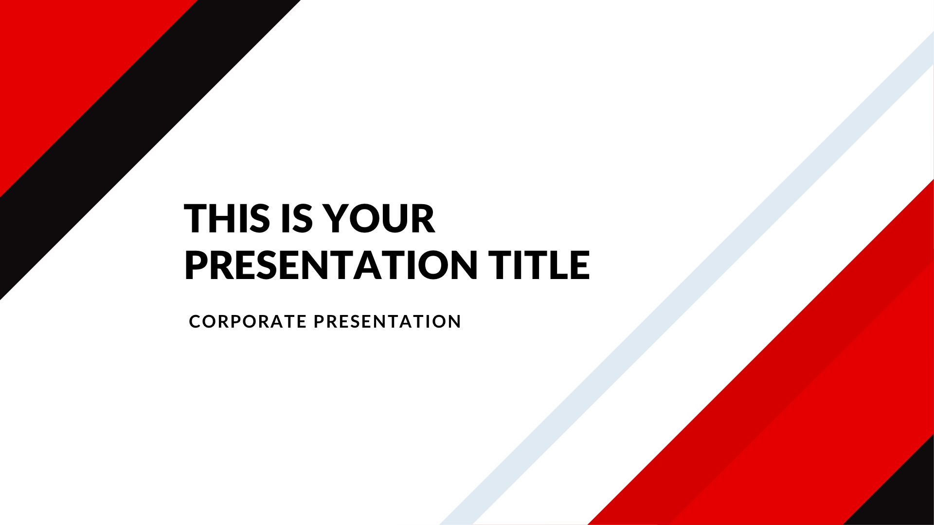 Market Real Estate Free PowerPoint Template, Google Slides, Keynote