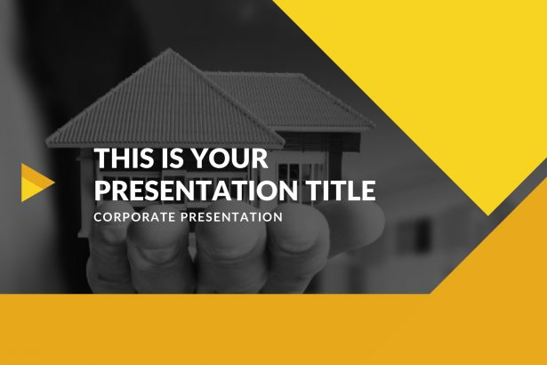 Novo Real Estate Free PowerPoint Template, Google Slides, Keynote