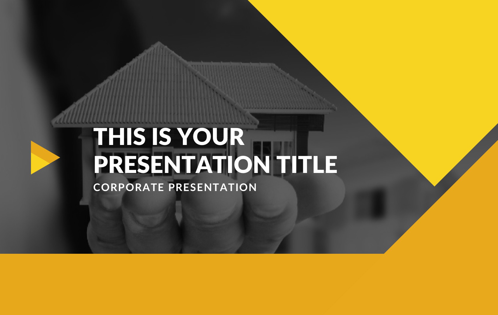 Novo Real Estate Free PowerPoint Template, Apple Keynote, Google Slides