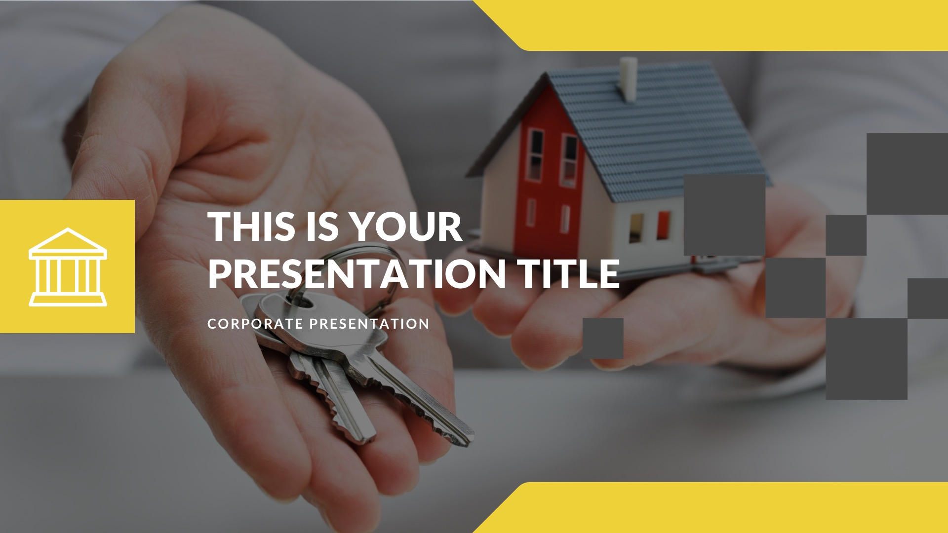 Rent Real Estate Free PowerPoint Template, Google Slides, Keynote