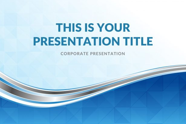 Waves Real Estate Free PowerPoint Template, Google Slides, Keynote