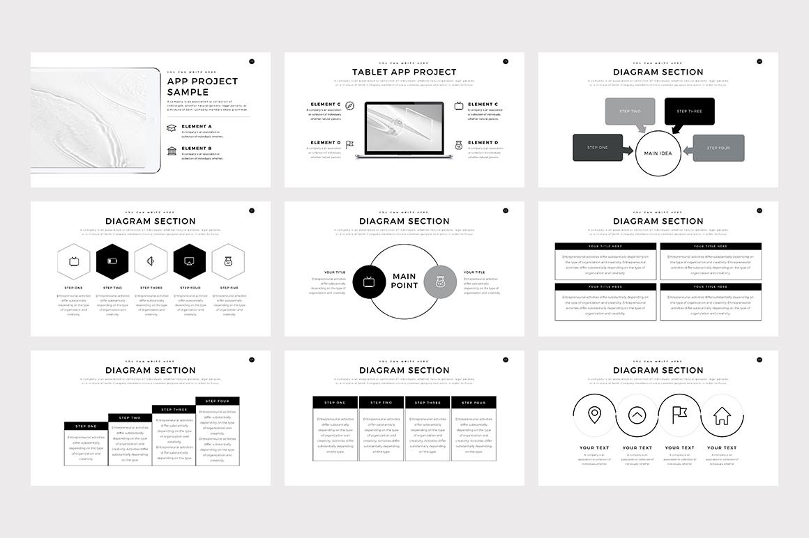 Verzus Minimal PowerPoint Template