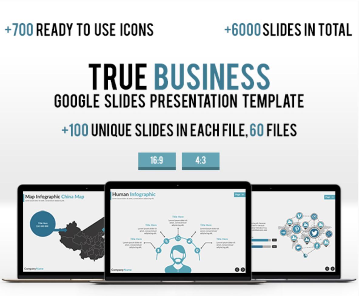 3 in 1 - Modern Business Google Slides Bundle