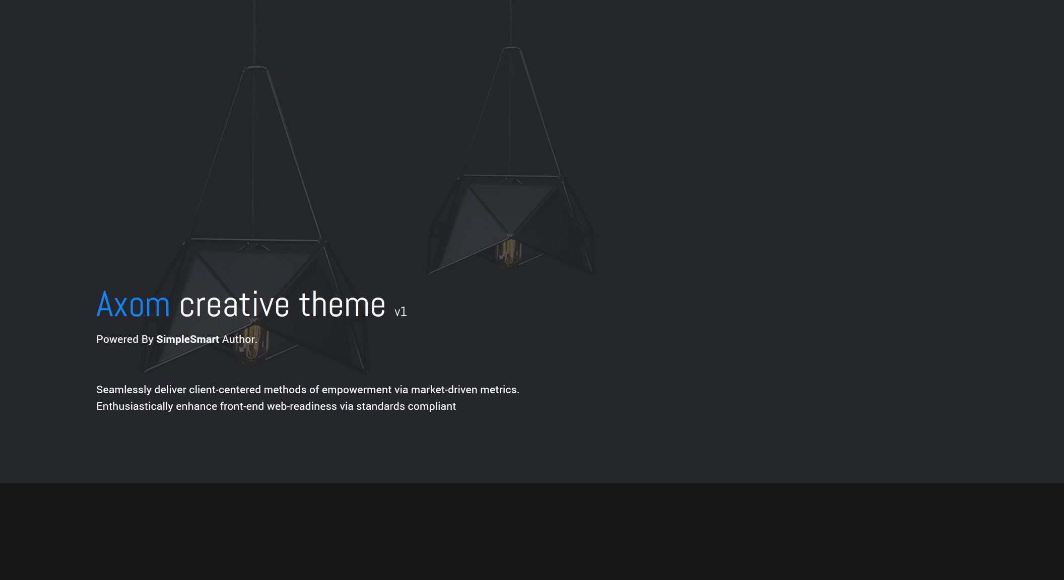 Axom Google Slide Theme