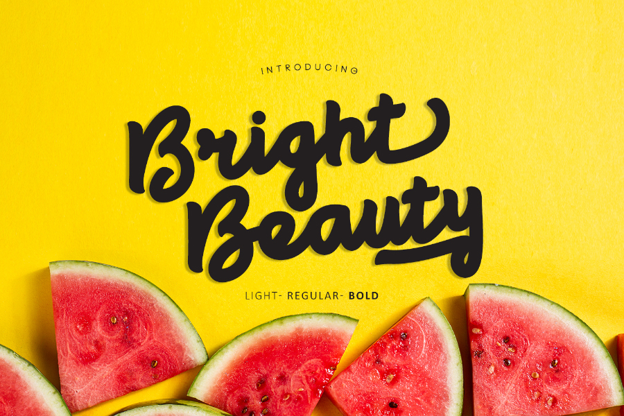 Bright Beauty Free Font