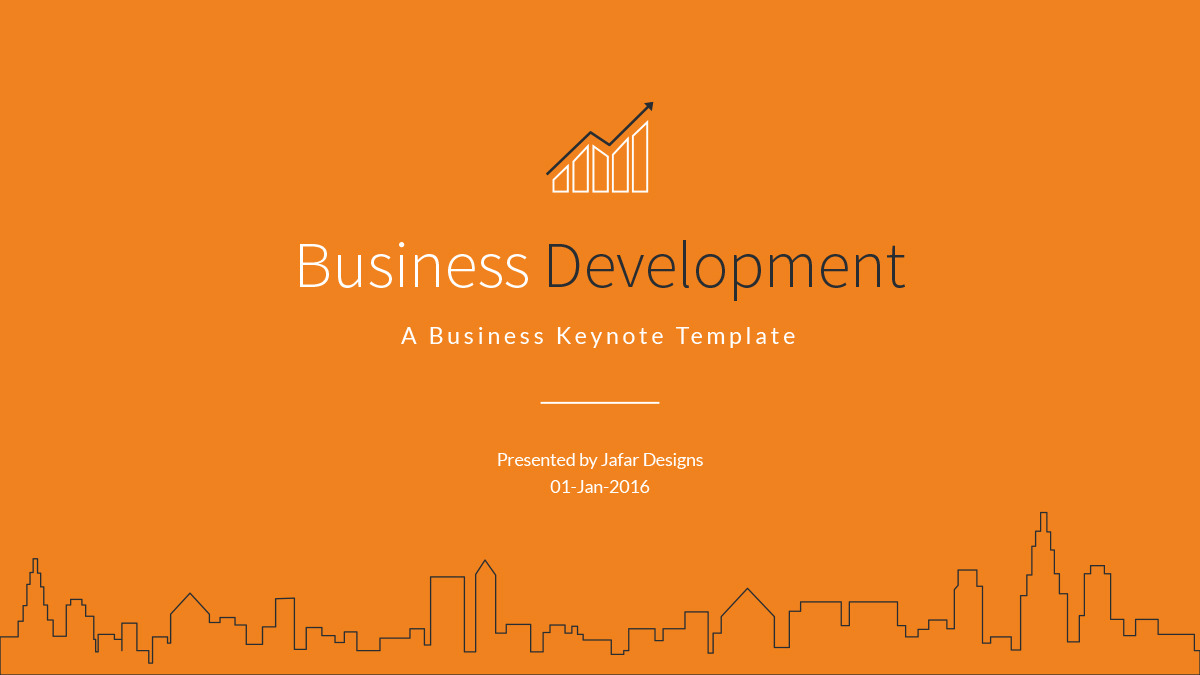 Business Development Keynote Template