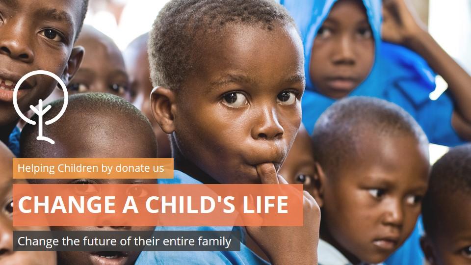 Charity Creative Google Slides Presentation Template