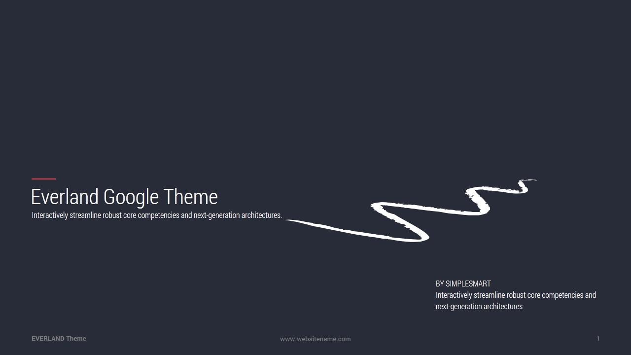 Everland Business Google Slide Theme