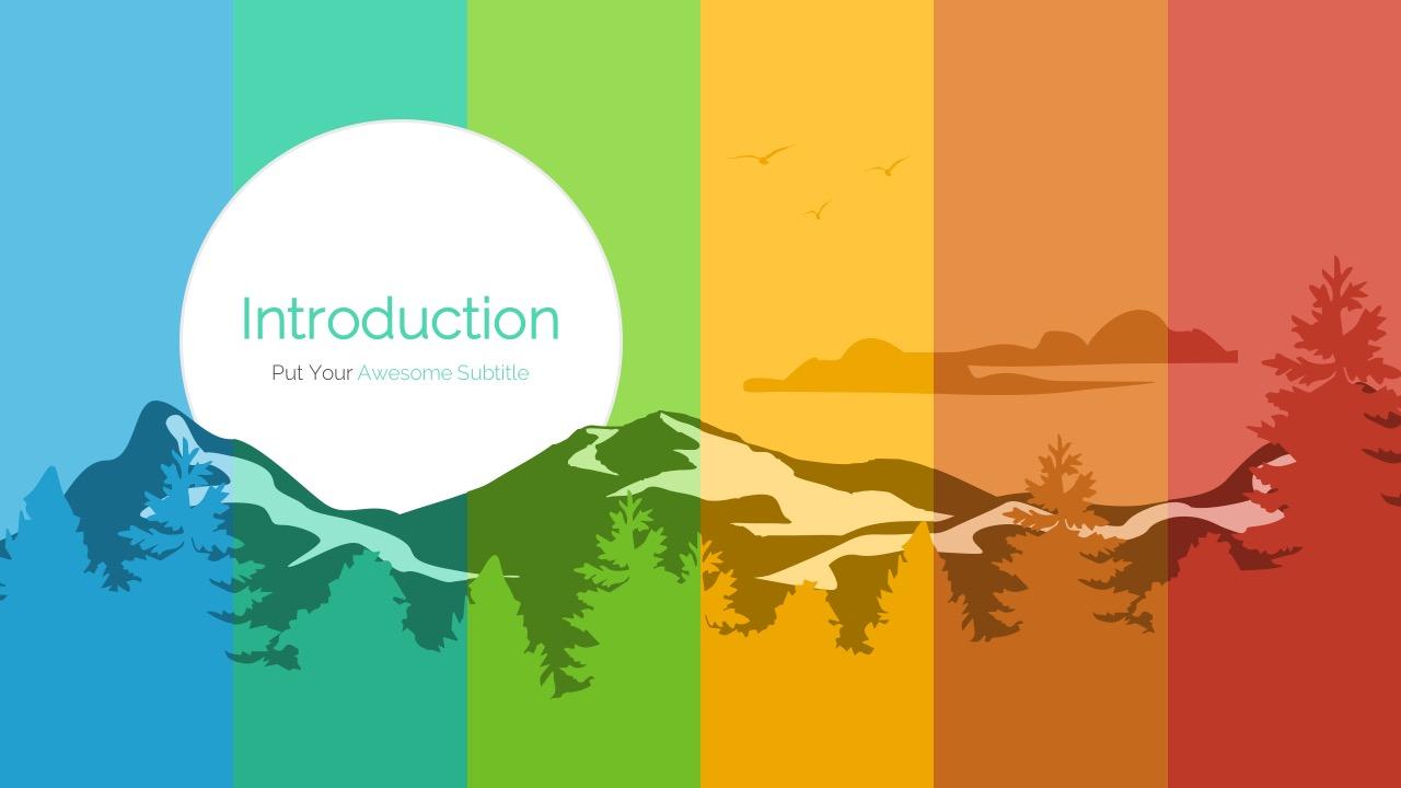 Forest - Multipurpose Google Slides Template