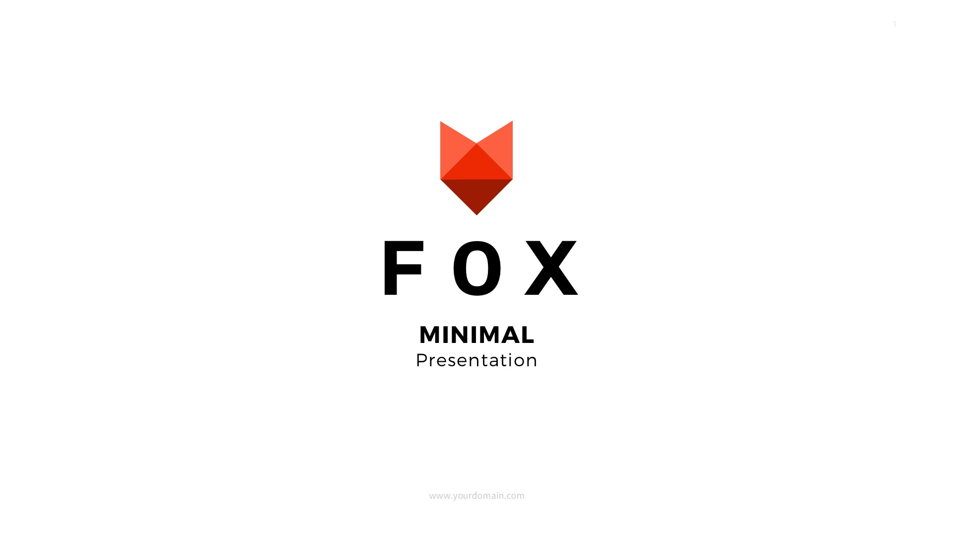 Fox - Google Slides Template