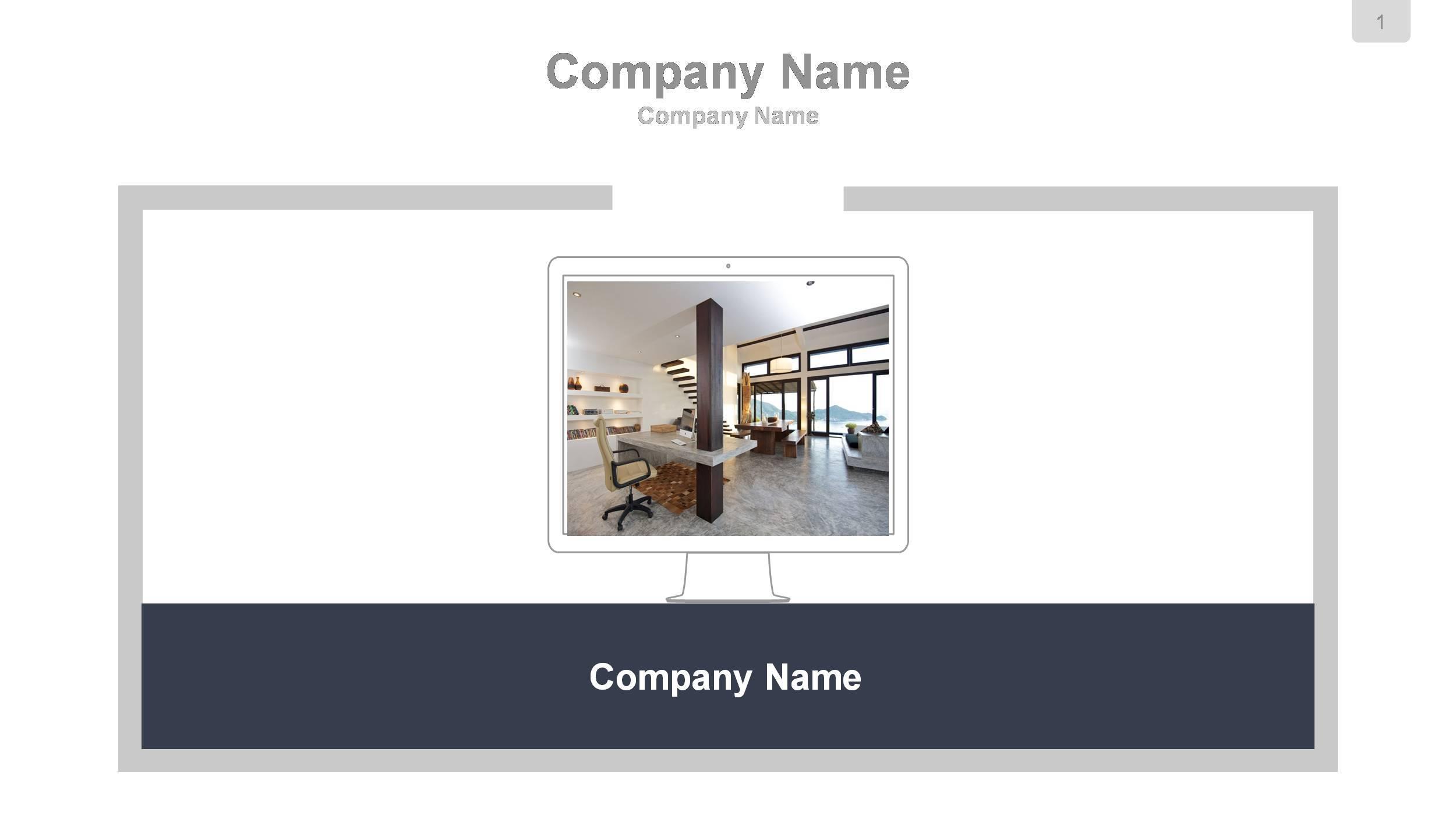Google Slides Presentation Template